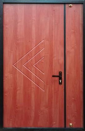 Отделка тамбурной двери (13)
