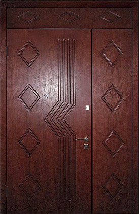 Отделка тамбурной двери (17)