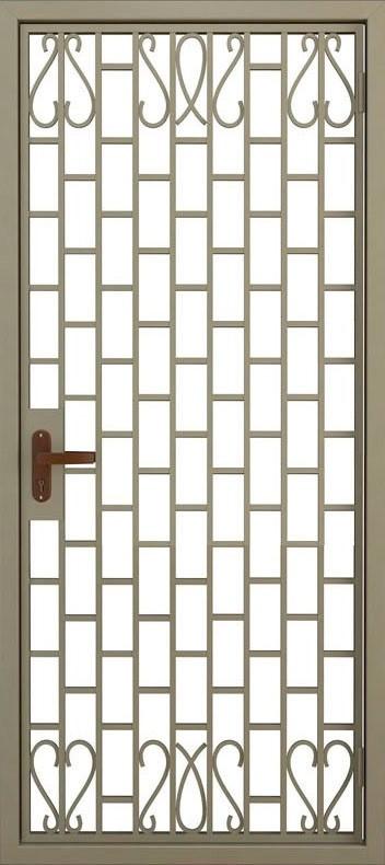 Дверь решётчатая (3)