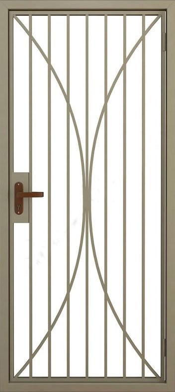 Дверь решётчатая (5)
