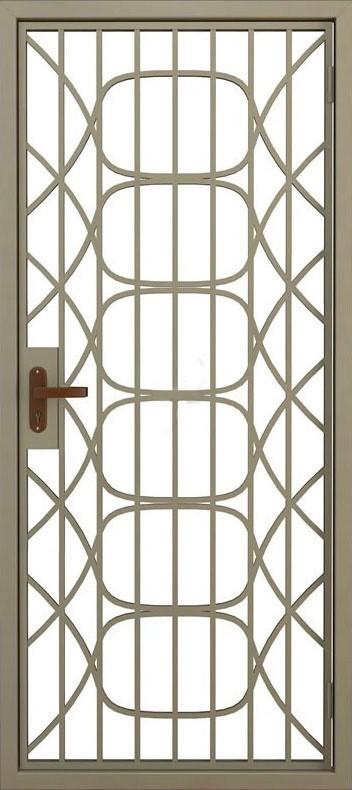 Дверь решётчатая (9)