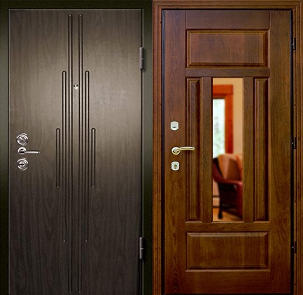 Дверь стальная с МДФ (1)