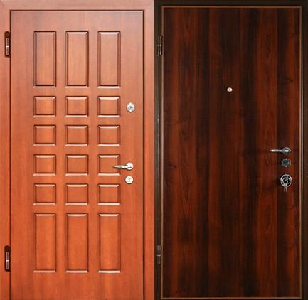 Дверь стальная с МДФ (10)