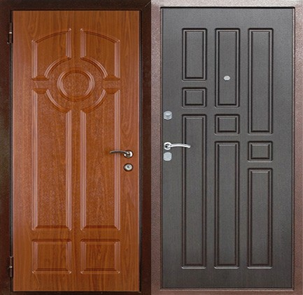 Дверь стальная с МДФ (15)