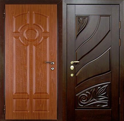 Дверь стальная с МДФ (26)