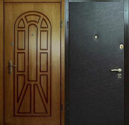 Дверь стальная с МДФ (3)