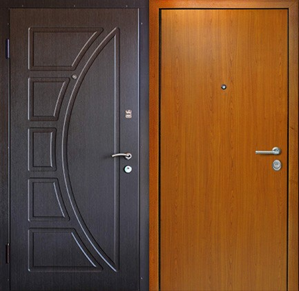 Дверь стальная с МДФ (9)