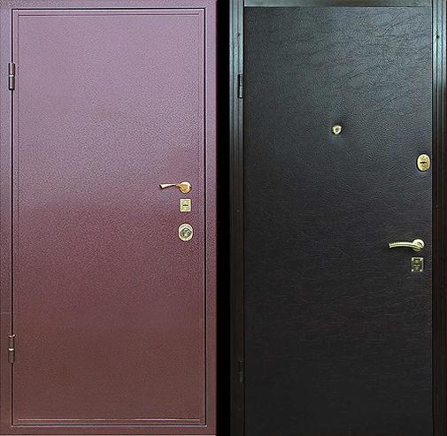 Дверь с порошковым напылением (12)