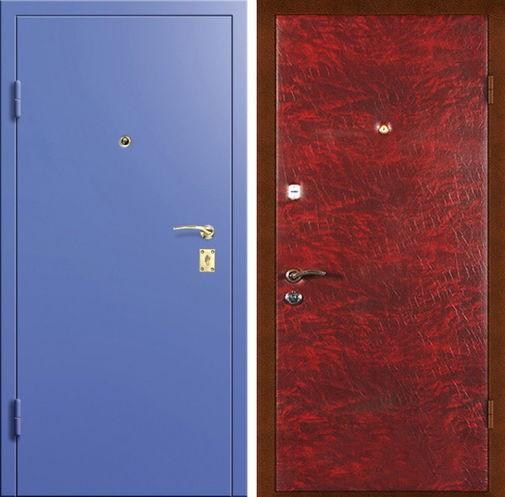 Дверь с порошковым напылением (14)