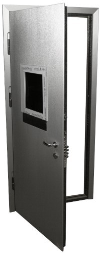 Дверь бронированная с окном от 43000 р.