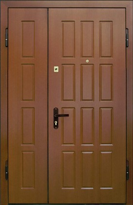 Отделка тамбурной двери (11)