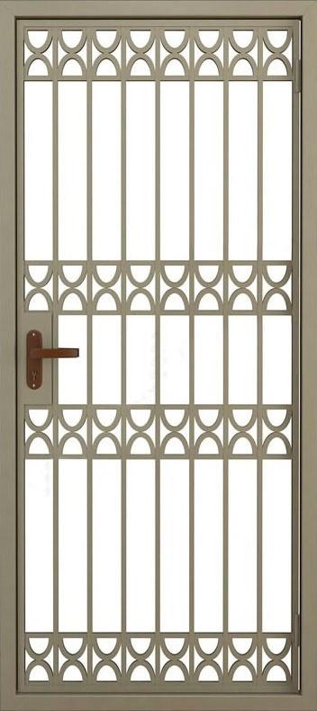 Дверь решётчатая (12)
