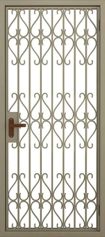 Дверь решётчатая (2)