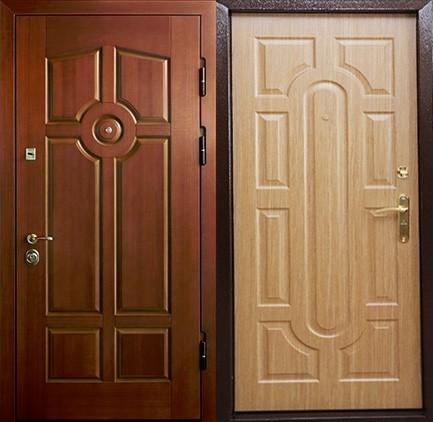 Дверь стальная с МДФ (11)