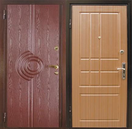 Дверь стальная с МДФ (14)
