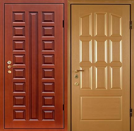 Дверь стальная с МДФ (18)