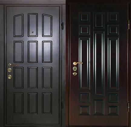 Дверь стальная с МДФ (20)