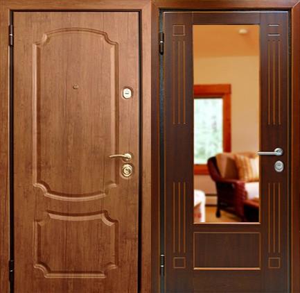 Дверь стальная с МДФ (21)