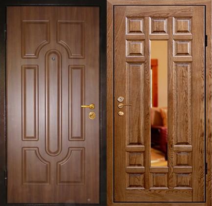 Дверь стальная с МДФ (22)
