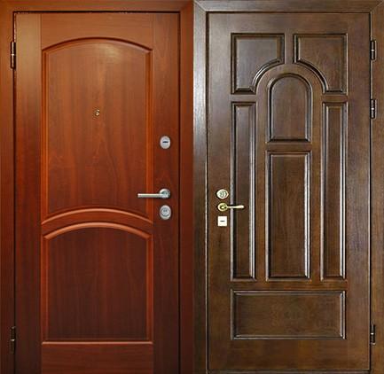 Дверь стальная с МДФ (23)