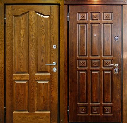 Дверь стальная с МДФ (24)