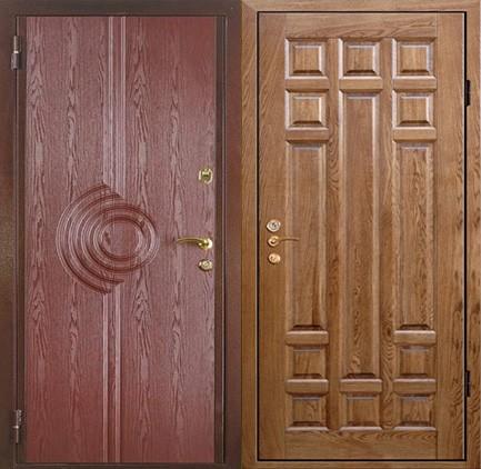 Дверь стальная с МДФ (25)