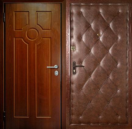 Дверь стальная с МДФ (6)