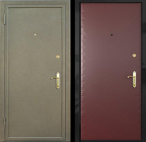 Дверь с порошковым напылением (10)