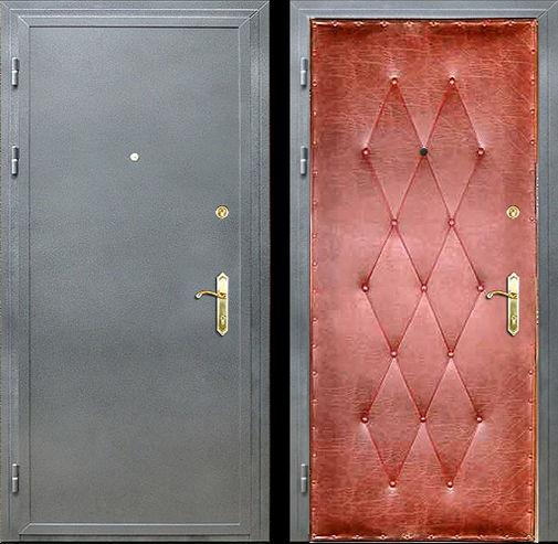 Дверь с порошковым напылением (11)