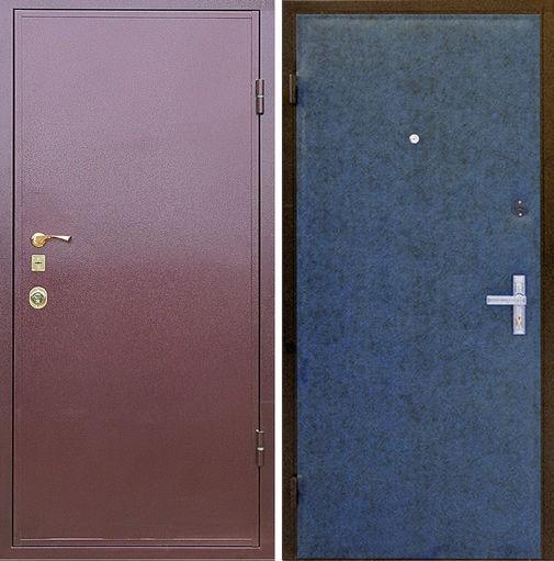 Дверь с порошковым напылением (13)