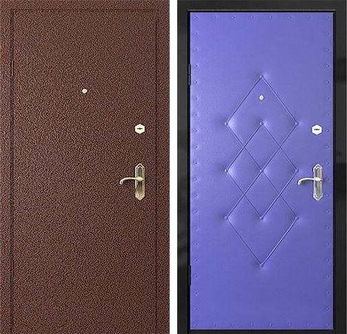 Дверь с порошковым напылением (16)